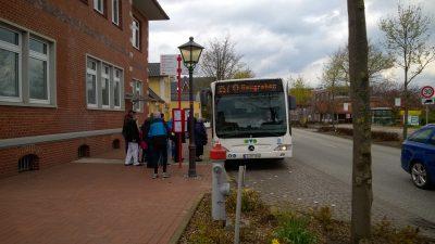 ÖPNV; Busverkehr in Jork