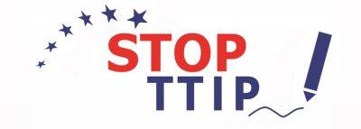 TTIP und CETA stoppen! (Quelle: Stopp TTIP)